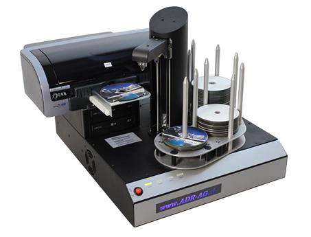 Hurricane 2 Blu-ray Kopier-Roboter inkl. HP Excellent IV